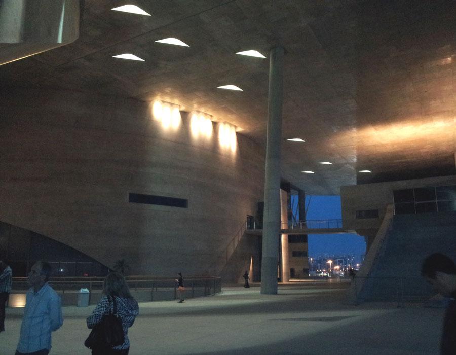 cidade das artes segundo nivel