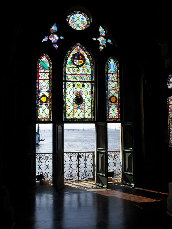 ilha fiscal vitrais sala do almirante